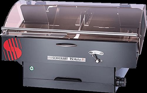 TS38plus RS II GRANDE Black Edition Kreismesser-Brotschneidemaschine